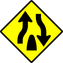 Traffic sign of Indonesia: