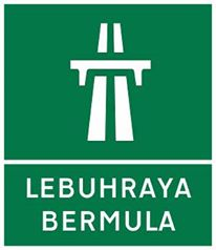Traffic sign of Malaysia: Begin of a motorway