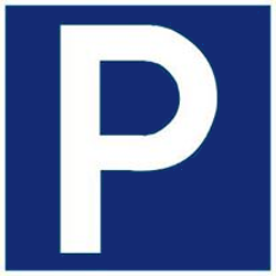 Traffic sign of Malaysia: Parking is allowed