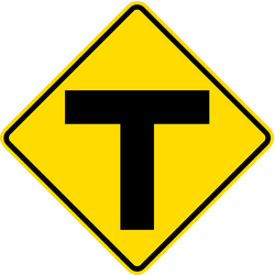 Traffic sign of Thailand:
