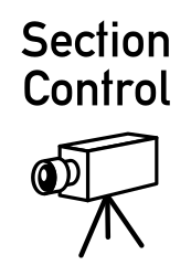Traffic sign of Austria: Section control