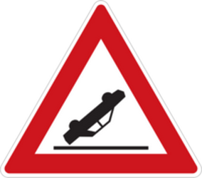 Traffic sign of Czech: Warning for accidents