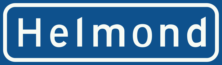 Traffic sign of Netherlands: Begin of a built-up area