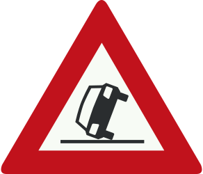 Traffic sign of Netherlands: Warning for accidents