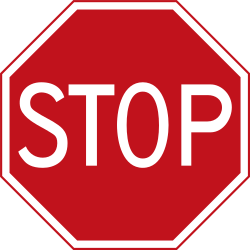 Traffic sign of Netherlands: Stop and give way to all drivers