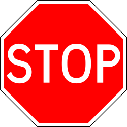 Traffic sign of Portugal: Stop and give way to all drivers