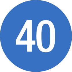 Traffic sign of Romania: Driving faster than indicated mandatory (minimum speed)