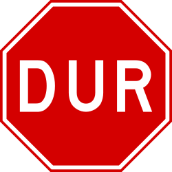 Traffic sign of Turkey: <a href='/en/turkey/overview/stop-sign'>Stop</a> and <a href='/en/turkey/overview/give-way'>give way</a> to all drivers