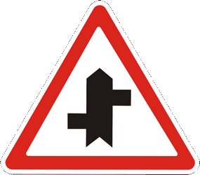 Traffic sign of Ukraine: