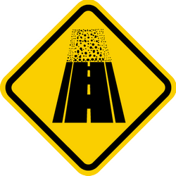 Traffic sign of Colombia: