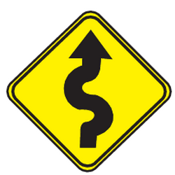 Traffic sign of Uruguay: